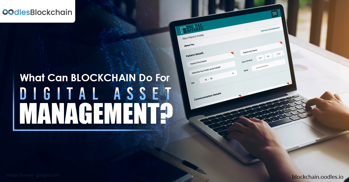 Blockchain in Digtal Asset Management