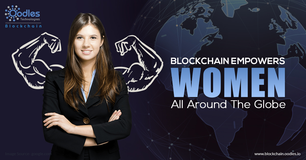 Blockchain implementation to improve women's lives