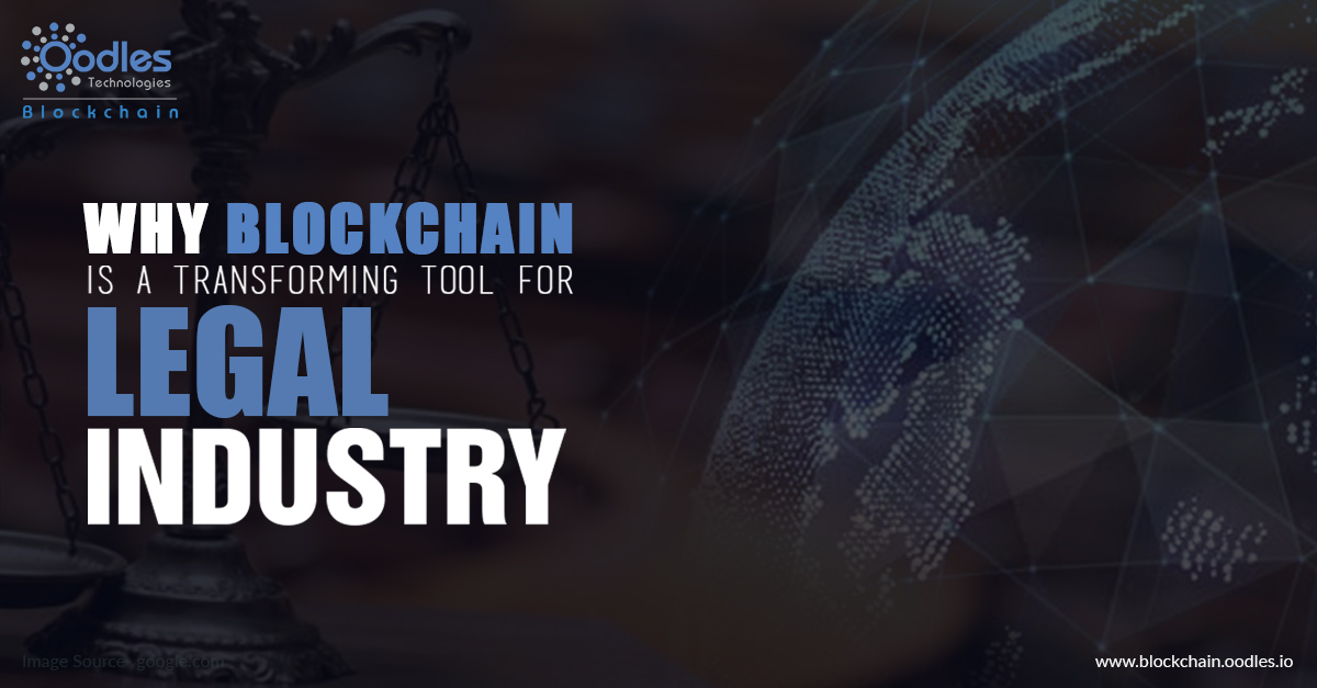 Blockchain implementation can be crucial for legal industry