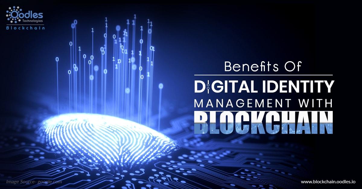 Blockchain with digital identity management