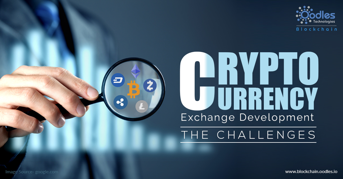 Challenges in cryptocurrency exchange development