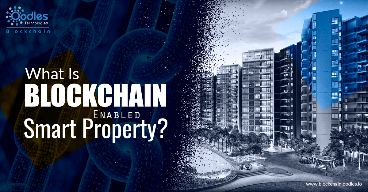 Blockchain-embedded smart property