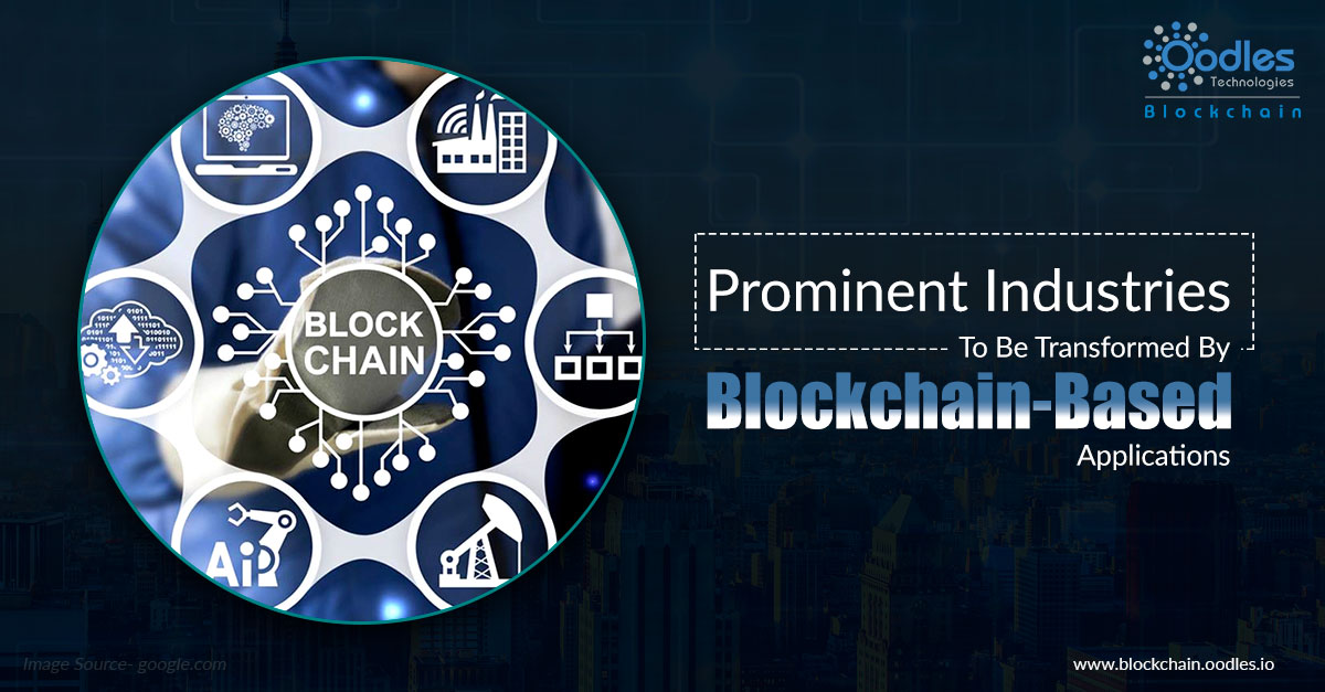 blockchain based application