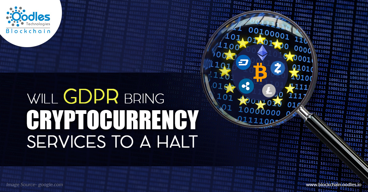 GDPR and Cryptocurrency Services