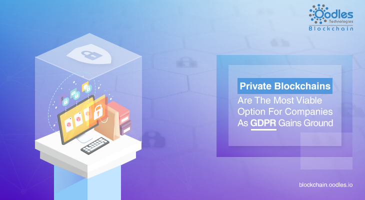 private blokchains and GDPR