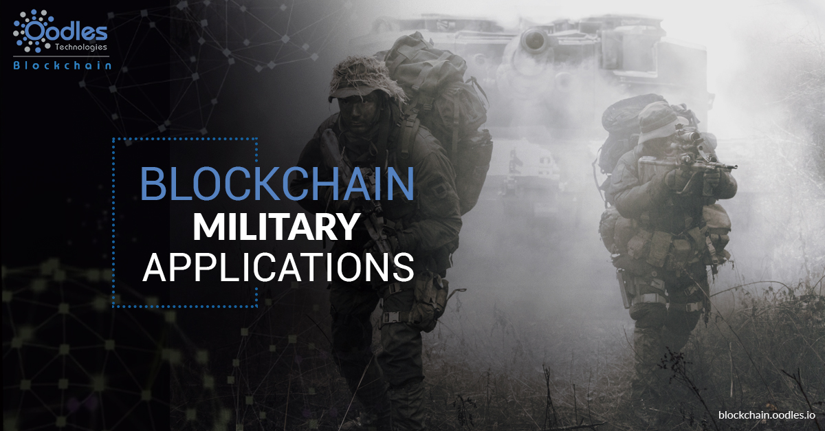 blockchain military applications
