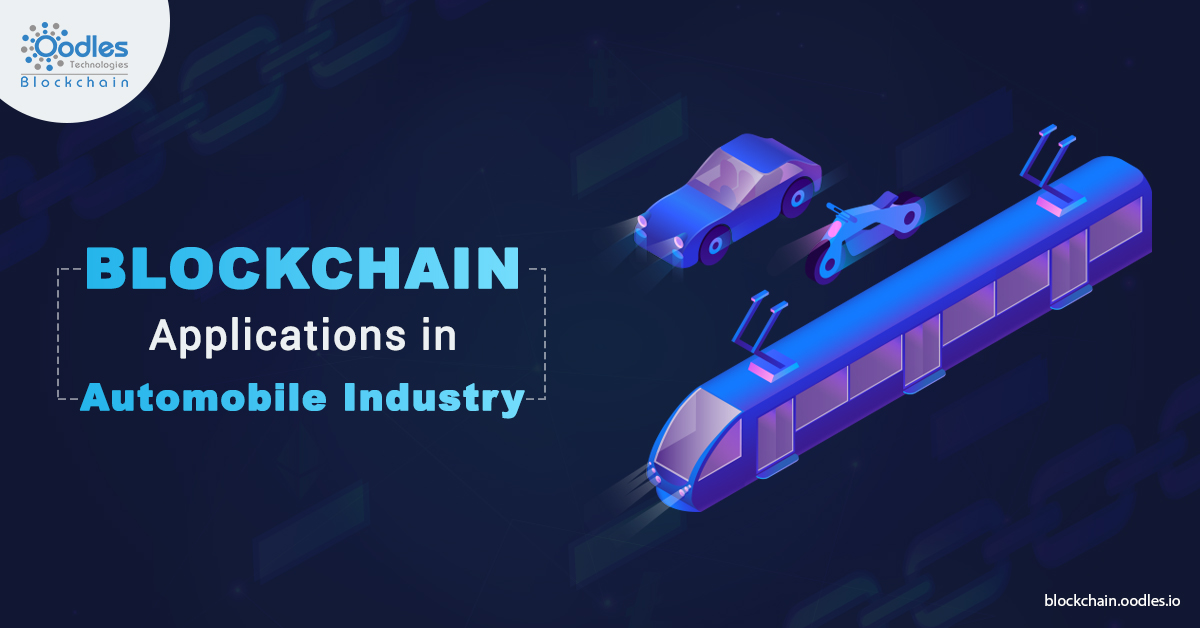 Blockchain applications in Automotive