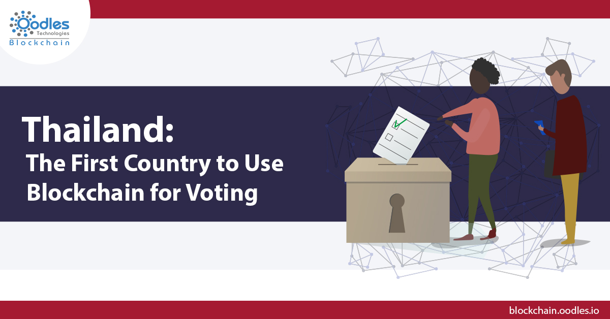 Blockchain Based Voting in Thailand