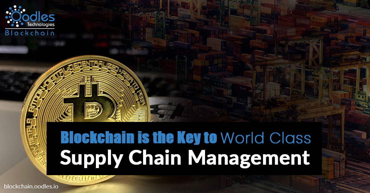Blockchain supply chain development