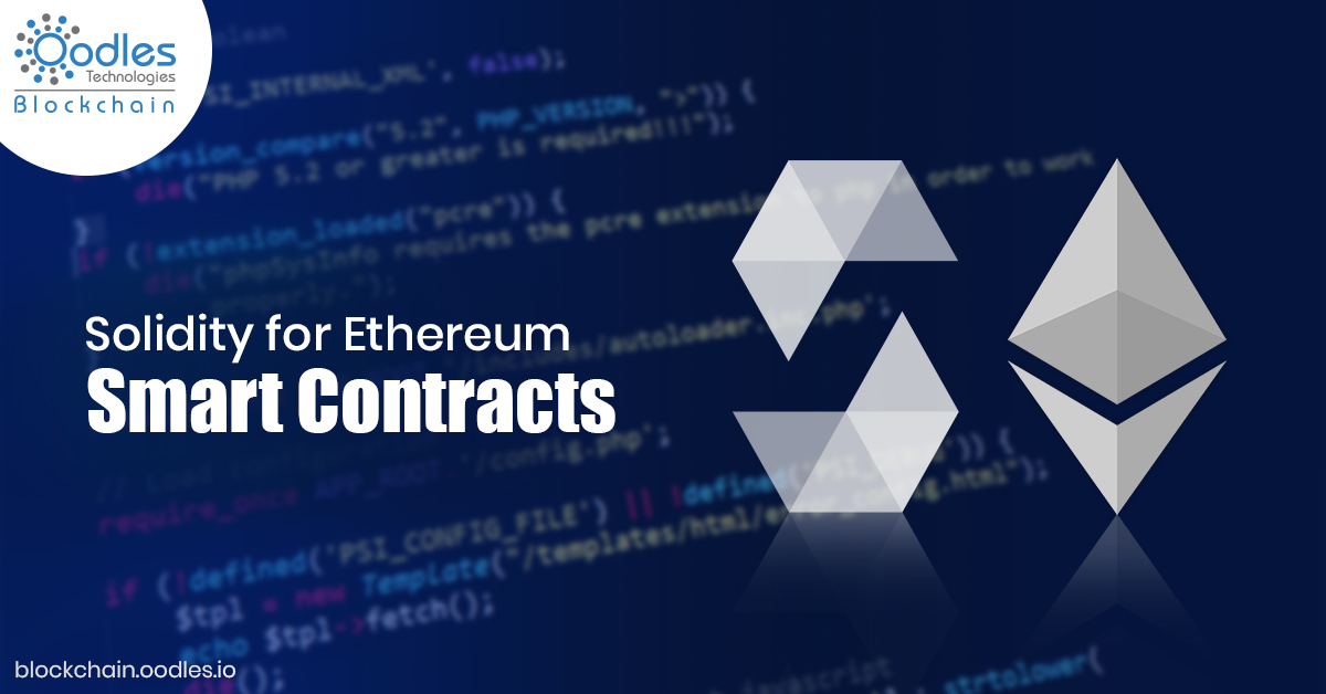 Solidity for Ethereum Smart Contracts