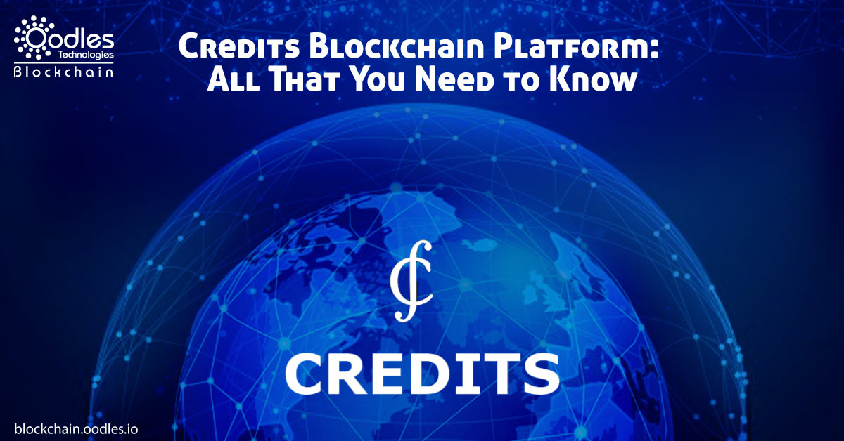 Credits Blockchain Platforms