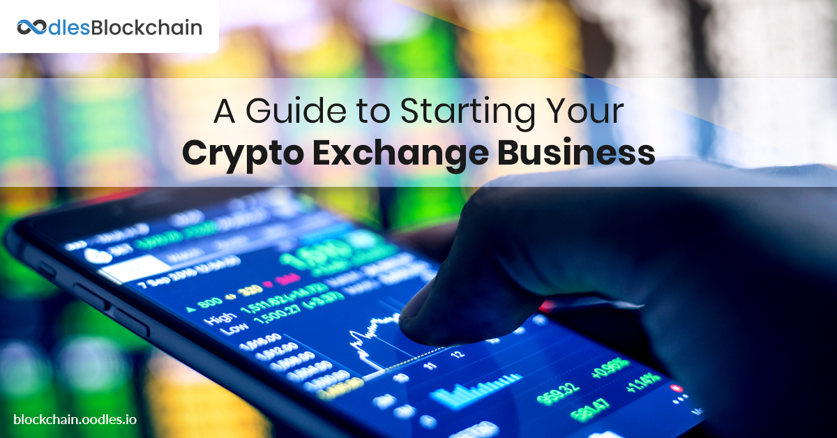 crypto exchange business