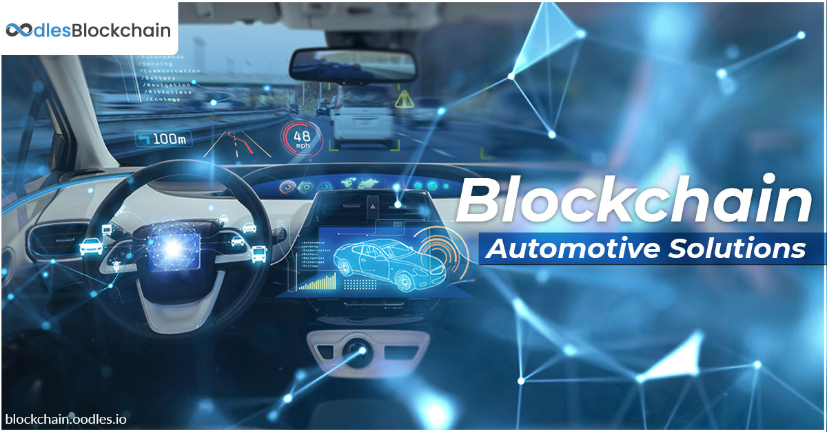 blockchain automotive solutions