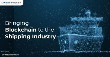 blockchain in shipping industry