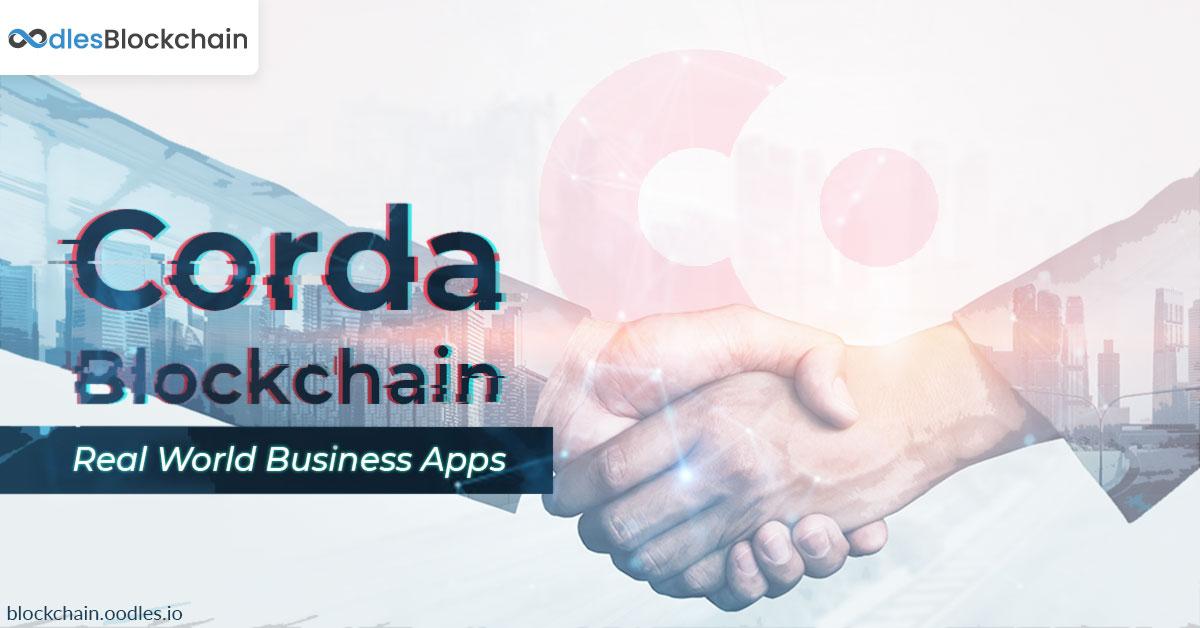 Corda blockchain applications development