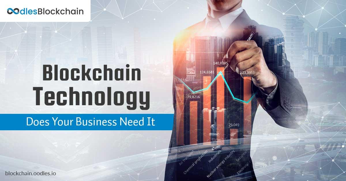 blockchain business need