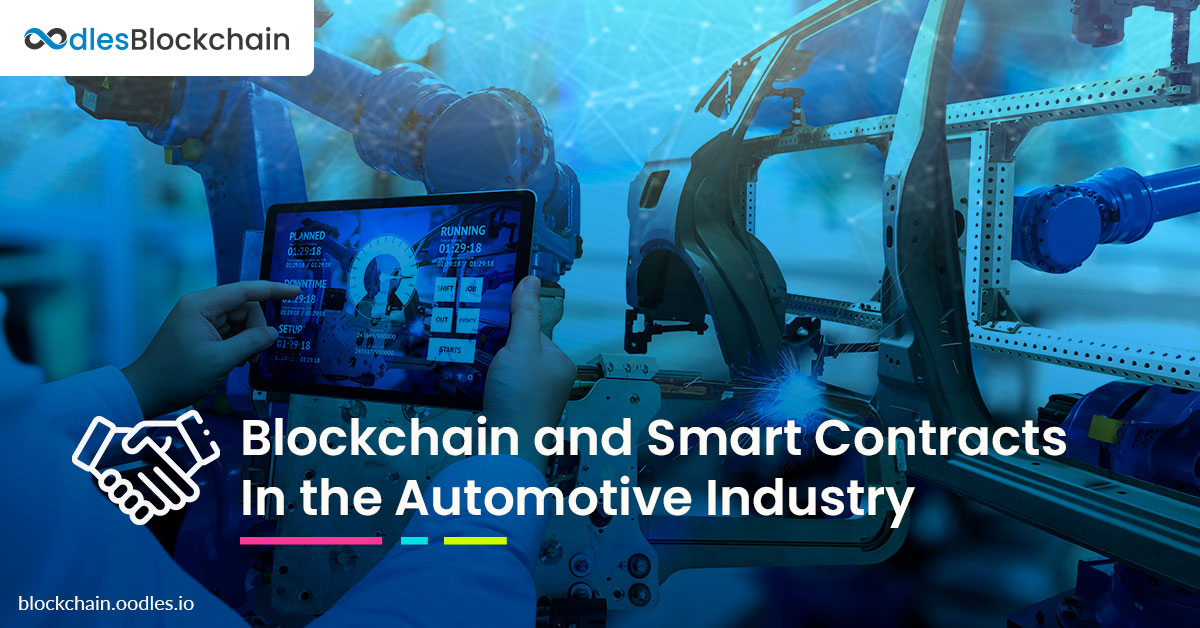 smart contracts automotive