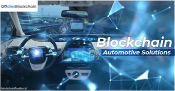 blockchain automotive solutions