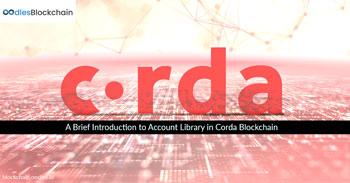Accounts Library Corda Blockchain