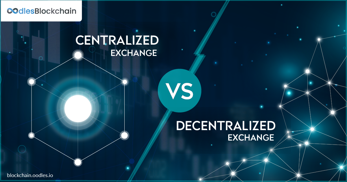centralilzed and decentralized crypto exchange platforms a