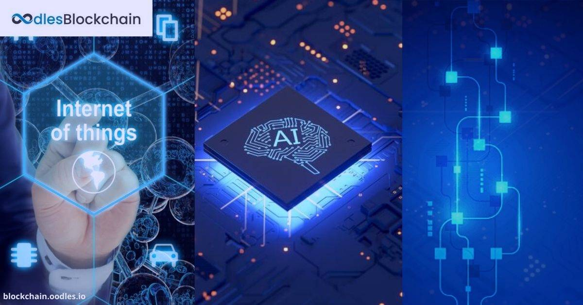 blockchain, AI, and IoT