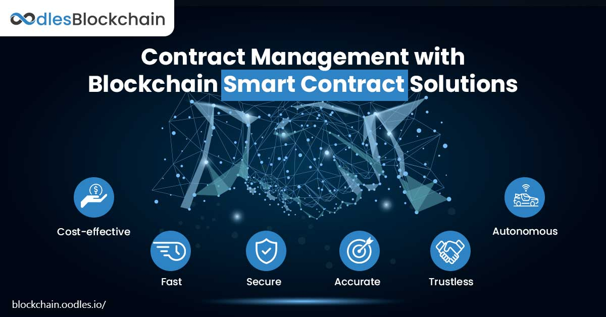 blockchain smart contracts contract management