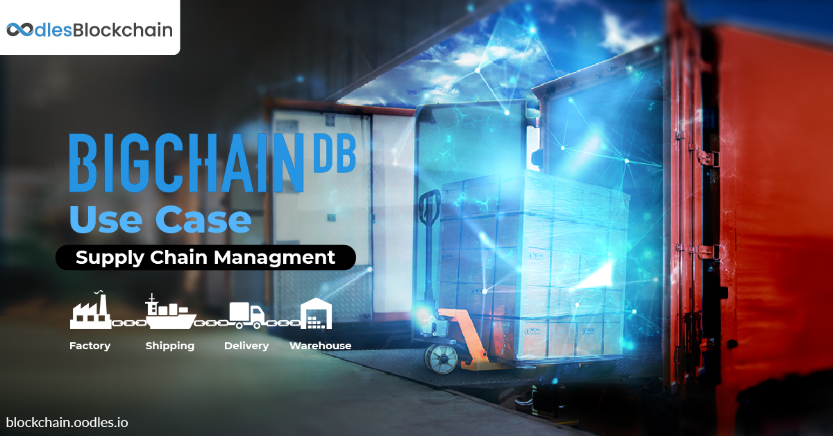 BigchainDB Supply Chain Management