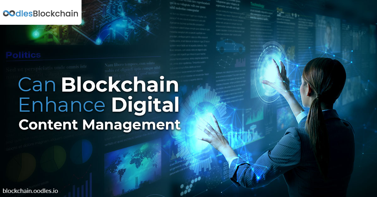 blockchain in digital content management
