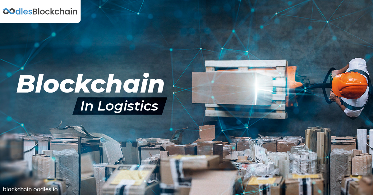 Blockchain applications logistics